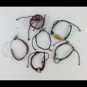 SALE 3/$10 🥳 6 bracelets (mostly Pura Vida)